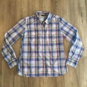 Patagonia Plaid Button Up Shirt